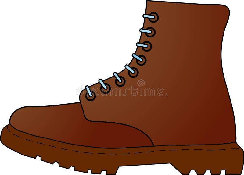 皮鞋 向量例证