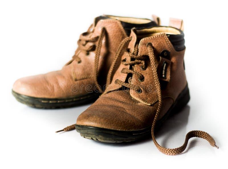 皮鞋 免版税库存照片