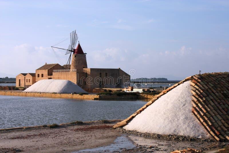 盐厂 免版税库存图片