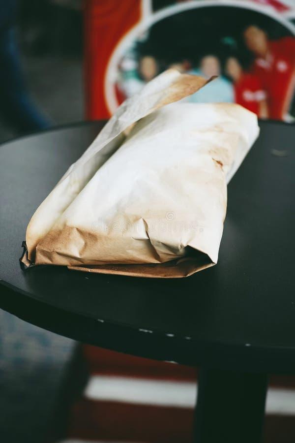 盐味的鸡在怡保,马来西亚 免版税库存图片