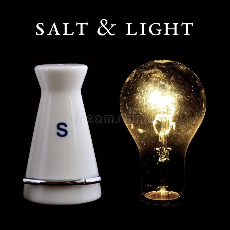 盐和光 图库摄影