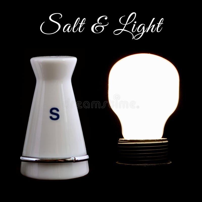 盐和光 库存图片