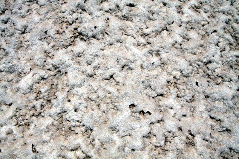 盐平的沙漠表面在圣佩德罗德阿塔卡马,智利附近的 库存图片