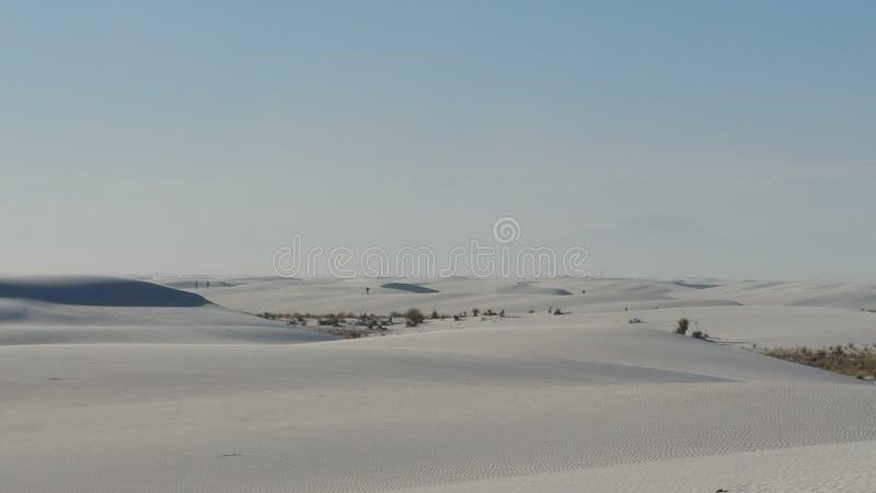 盐溶NM光滑的沙丘,春天舱内甲板2017年 免版税库存照片