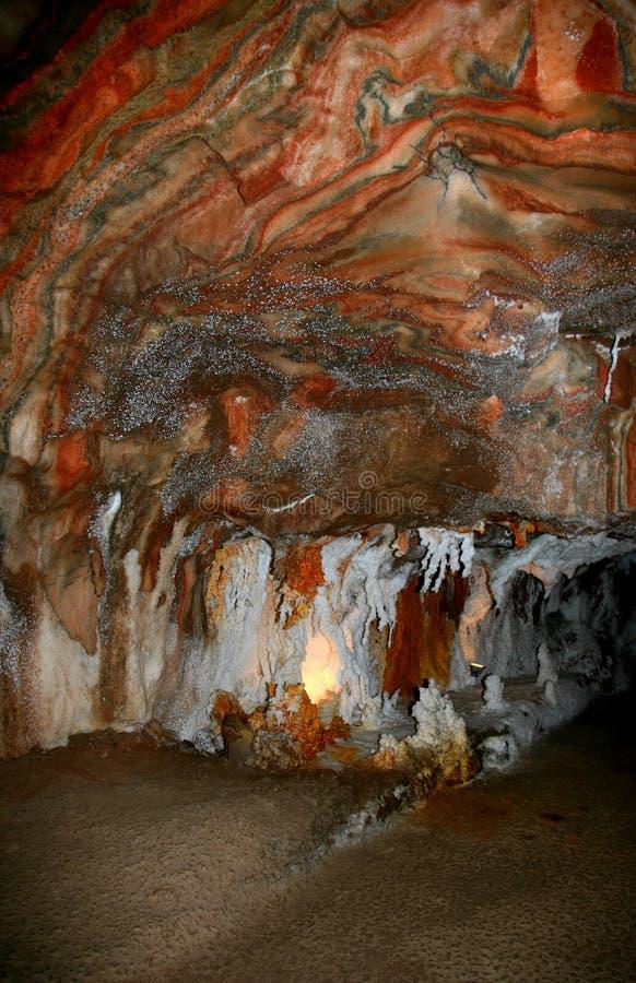盐Geode 2卡尔多纳西班牙 免版税库存图片