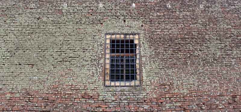 监狱牢房墙壁 免版税库存图片