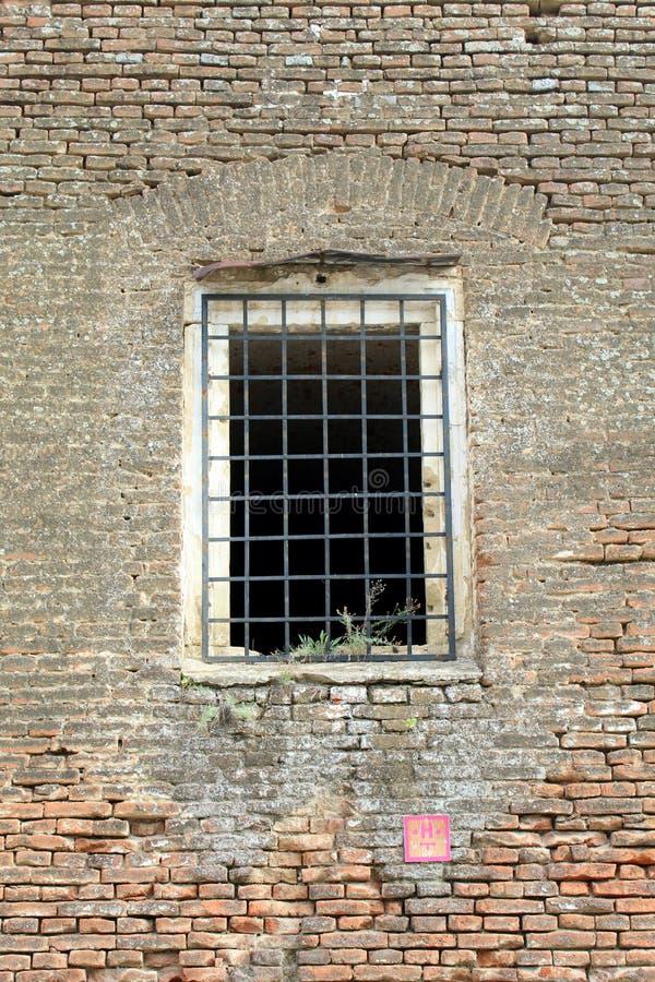 监狱牢房墙壁 免版税库存照片
