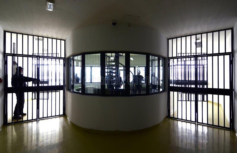 监狱细节  库存图片