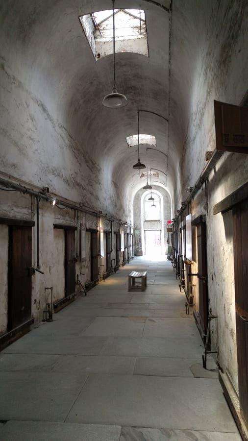 监狱霍尔 免版税库存照片