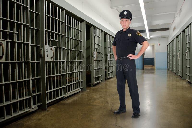监狱,监狱,执法,警察 图库摄影