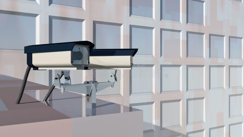 监视器 皇族释放例证