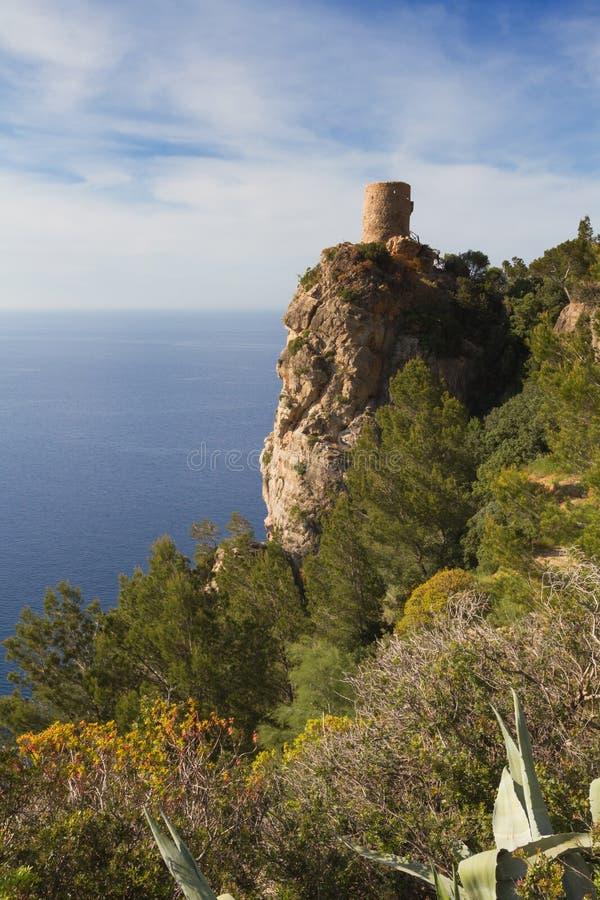 监视塔Torre des司事 免版税库存照片