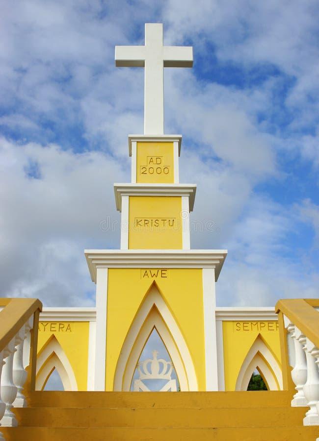 监视Seru缓慢地,博内尔岛, ABC海岛 图库摄影