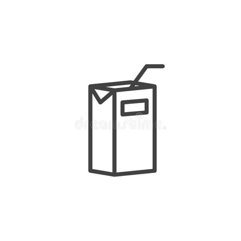 盒汁液线象 皇族释放例证