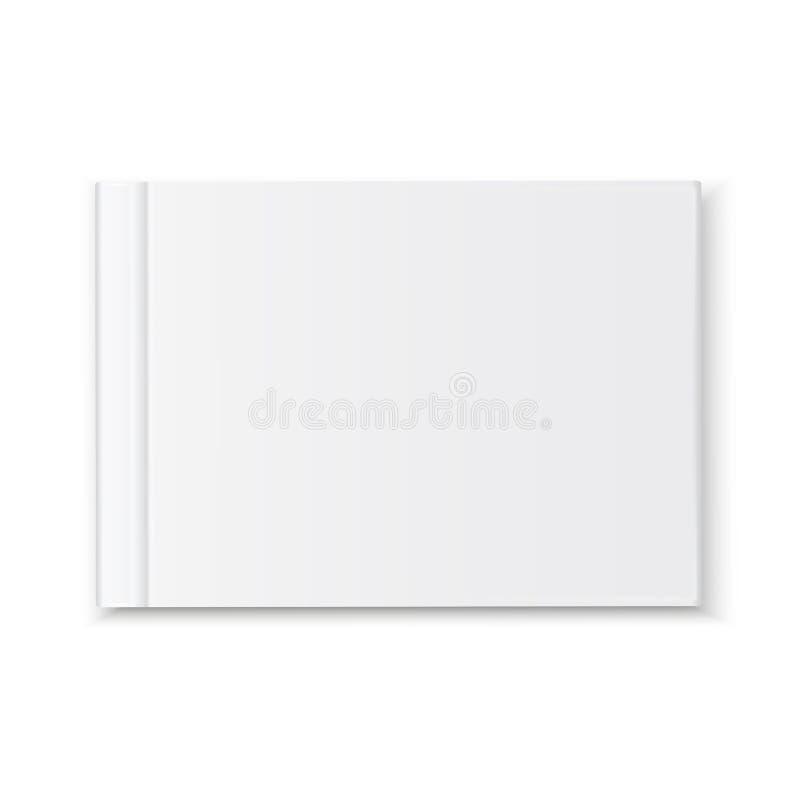 盖子空白的书册页 皇族释放例证