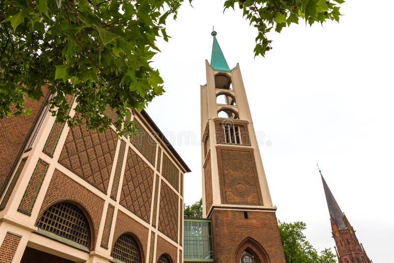 盖尔森基辛德国都市风景 免版税库存图片