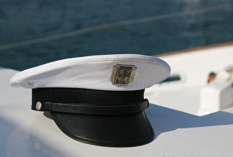 盖帽上尉 图库摄影