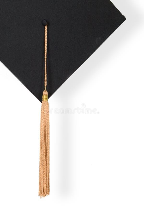 盖帽毕业 图库摄影