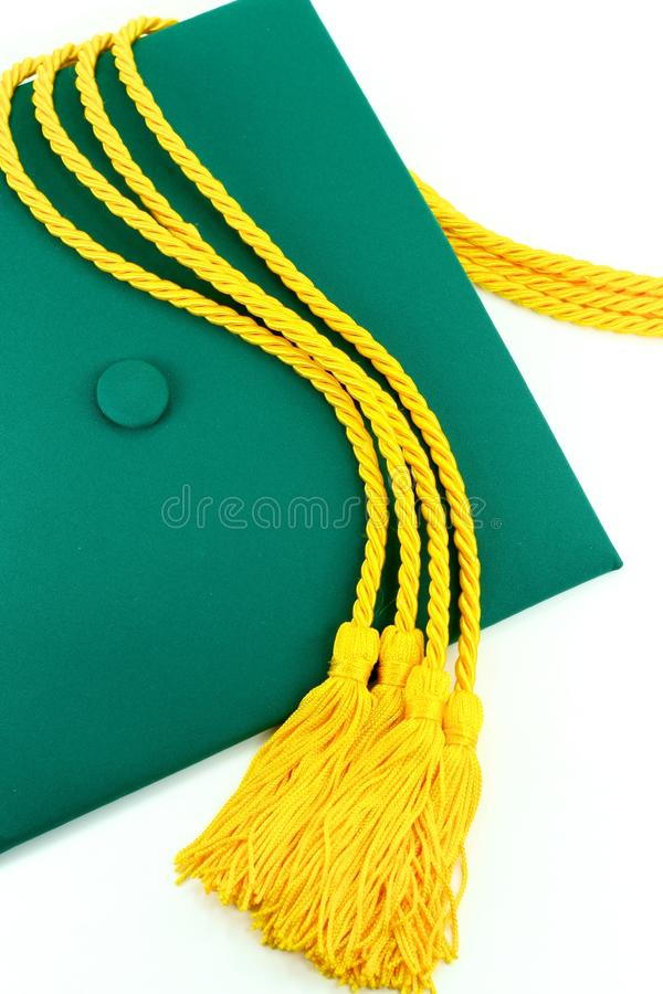盖帽毕业 免版税库存照片