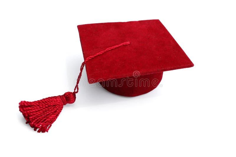 盖帽毕业 免版税图库摄影