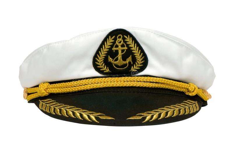 盖帽海军陆战队员 免版税库存照片