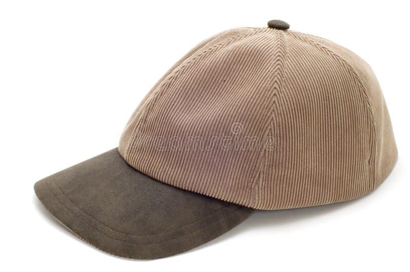 盖帽白色 库存照片