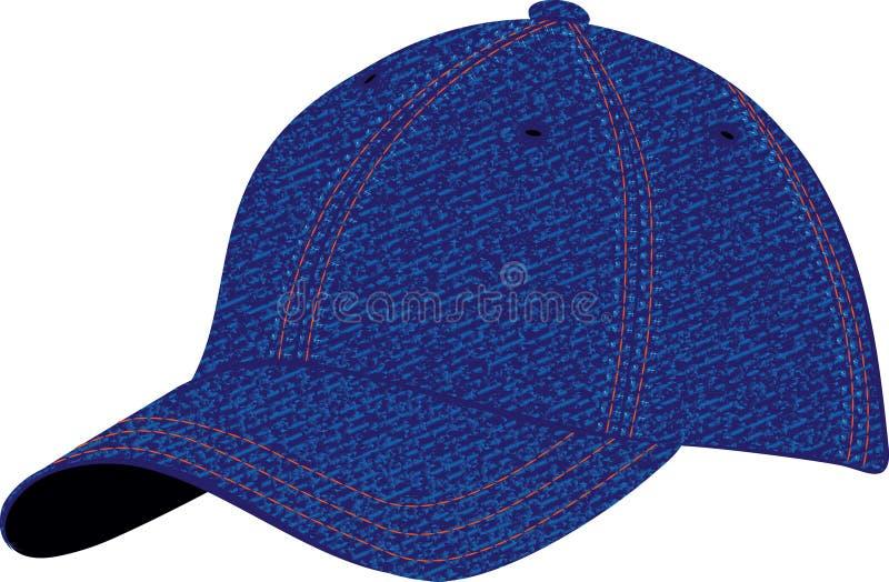 盖帽 向量例证