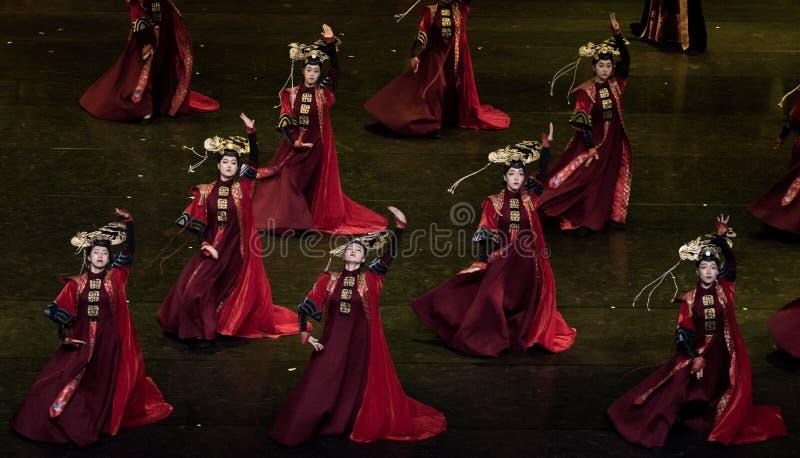 盖格舞蹈2古典宫廷舞蹈 库存图片