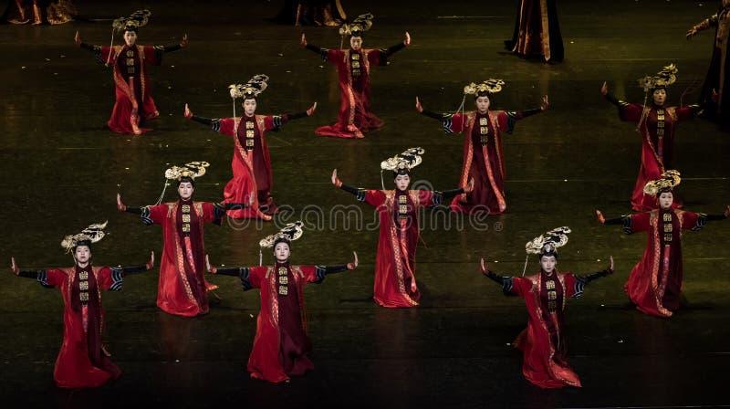盖格舞蹈4古典宫廷舞蹈 库存图片