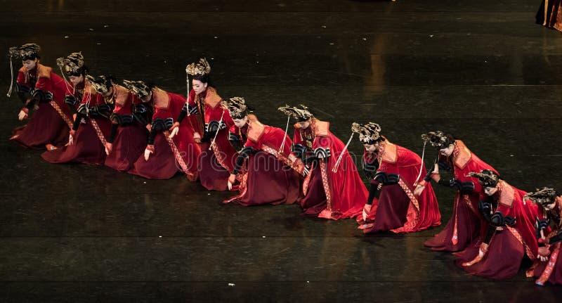盖格舞蹈5古典宫廷舞蹈 免版税库存照片