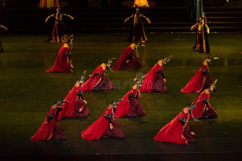 盖格舞蹈8古典宫廷舞蹈 库存照片