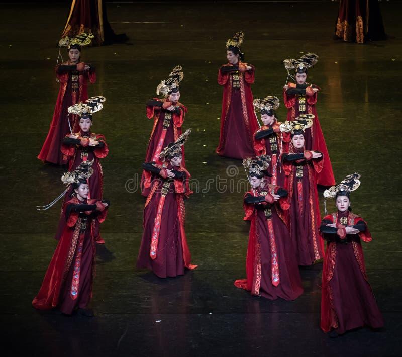 盖格舞蹈11古典宫廷舞蹈 库存照片