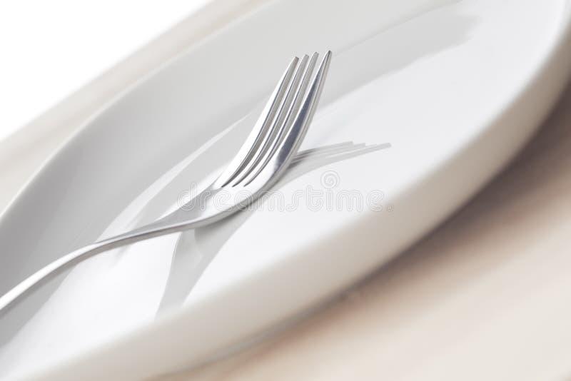 盘叉子 库存照片