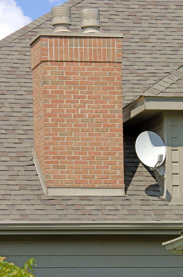 Download 盘家庭卫星 库存图片. 图片 包括有 房子, 木头, 烟囱, 壁炉, 金属, 不列塔尼的, 豪华, 电视, 通知 - 185627