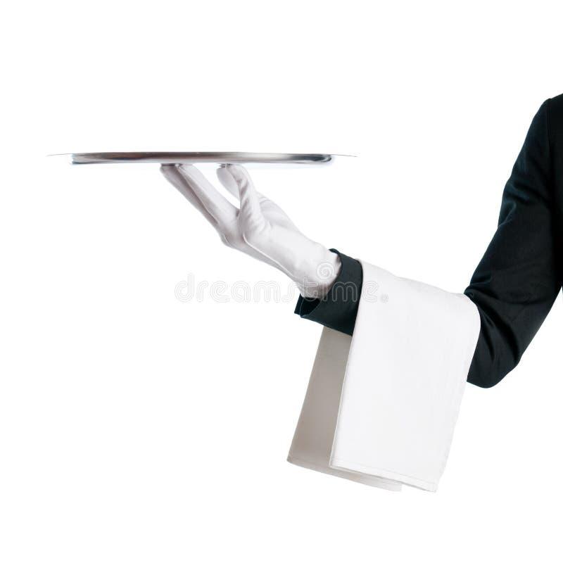 盘等候人员 免版税库存图片