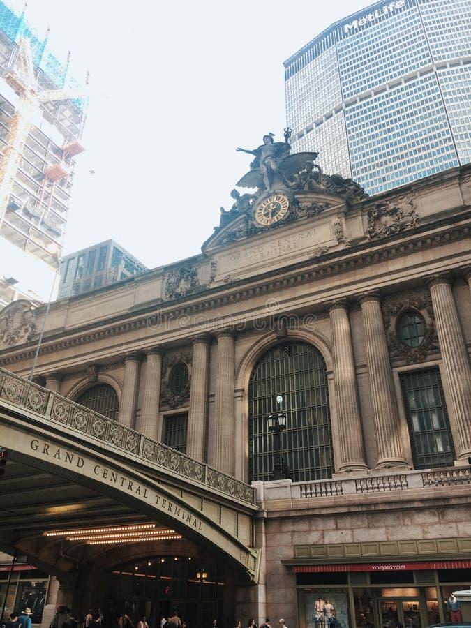 盛大中央终端-纽约 免版税库存照片