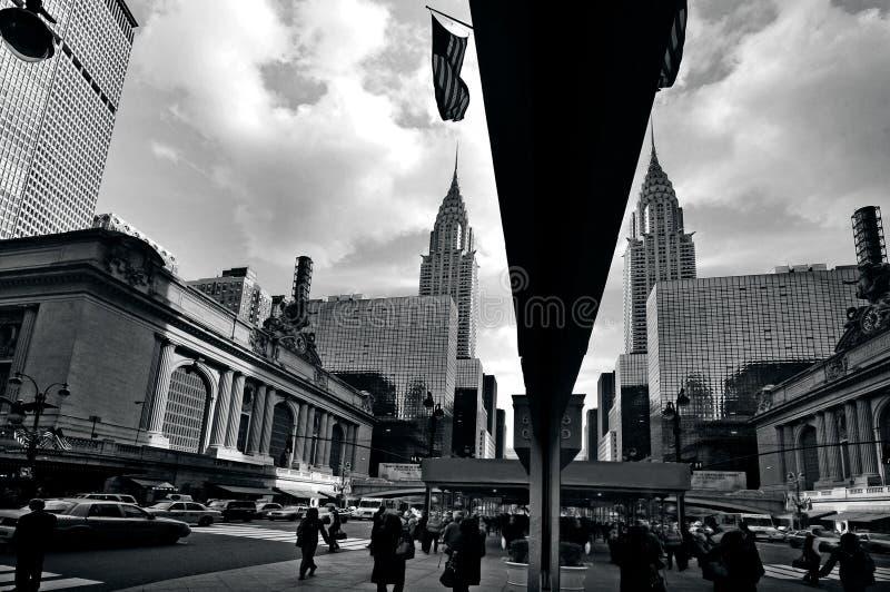 盛大中央驻地在曼哈顿NYC 库存照片