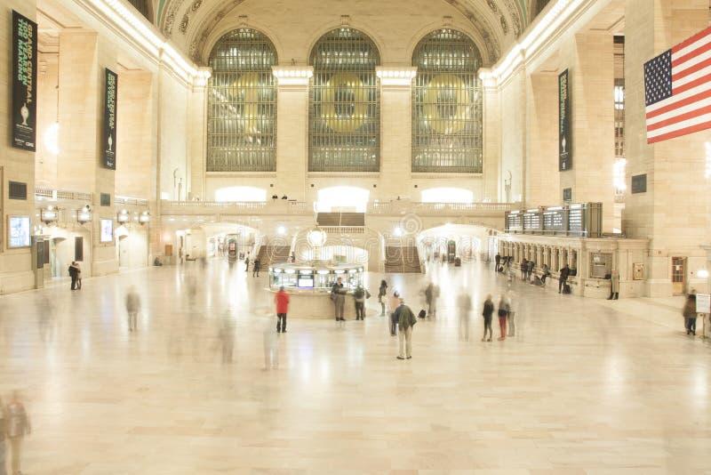 盛大中央驻地,曼哈顿,纽约 免版税库存图片