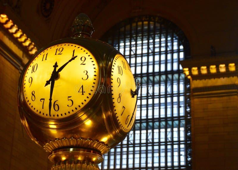 盛大中央终端, NYC的主要霍尔 免版税图库摄影