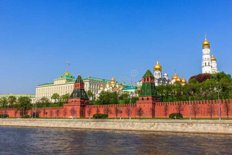 盛大克里姆林宫宫殿,莫斯科  免版税图库摄影