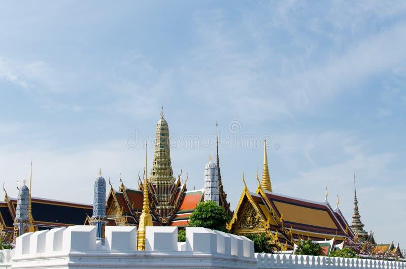 盛大宫殿在泰国 免版税图库摄影
