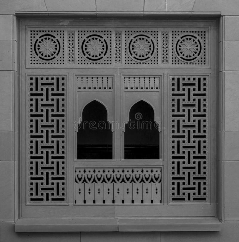 盛大清真寺-马斯喀特-阿曼 库存照片