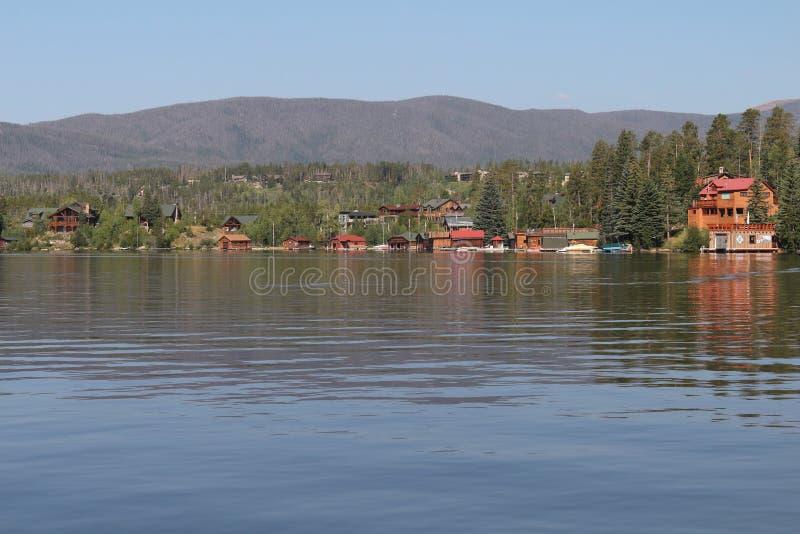 盛大湖,科罗拉多 免版税库存照片