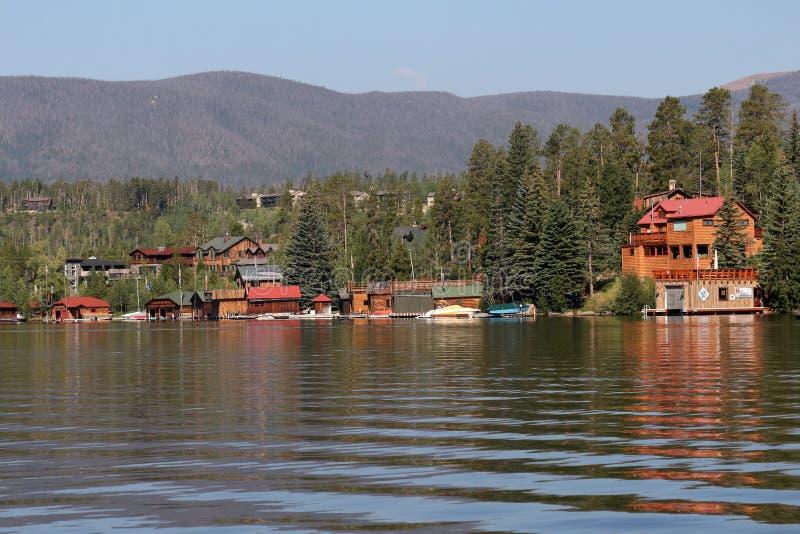盛大湖,科罗拉多 图库摄影