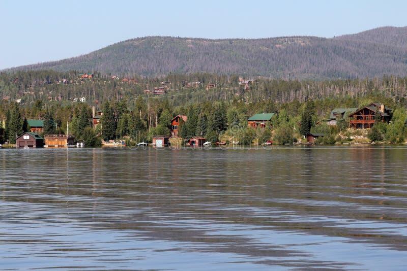 盛大湖,科罗拉多 免版税图库摄影