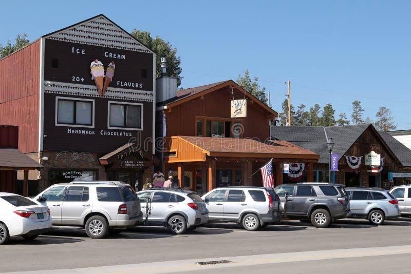 盛大湖,科罗拉多 免版税库存图片