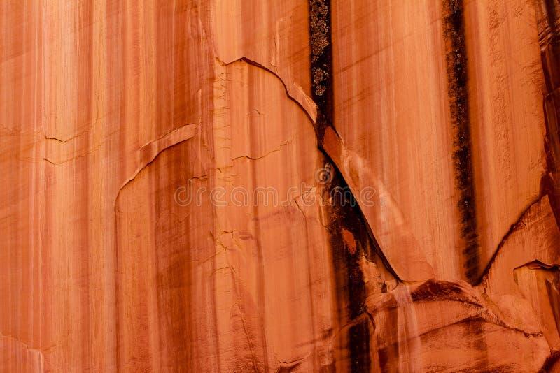 盛大洗涤峡谷屏障 免版税库存照片