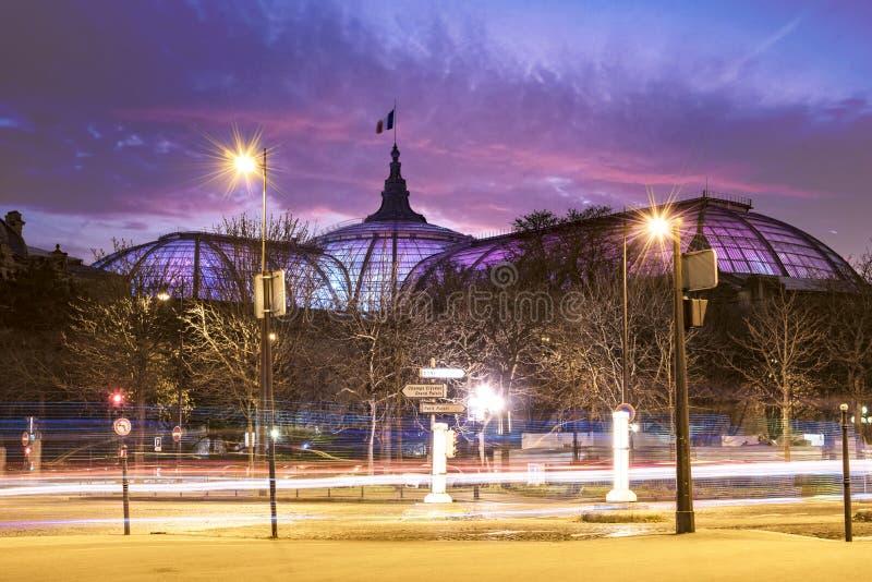盛大Palais玻璃圆顶 库存图片
