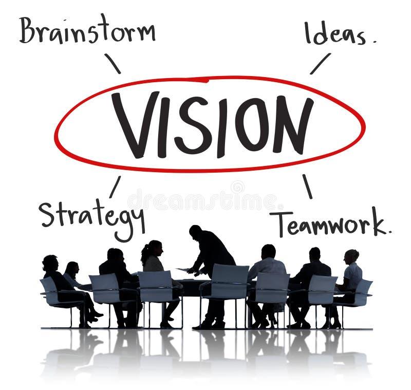 目标企业品牌发射公司成功概念 图库摄影