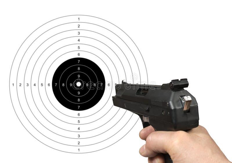 目标射击 图库摄影